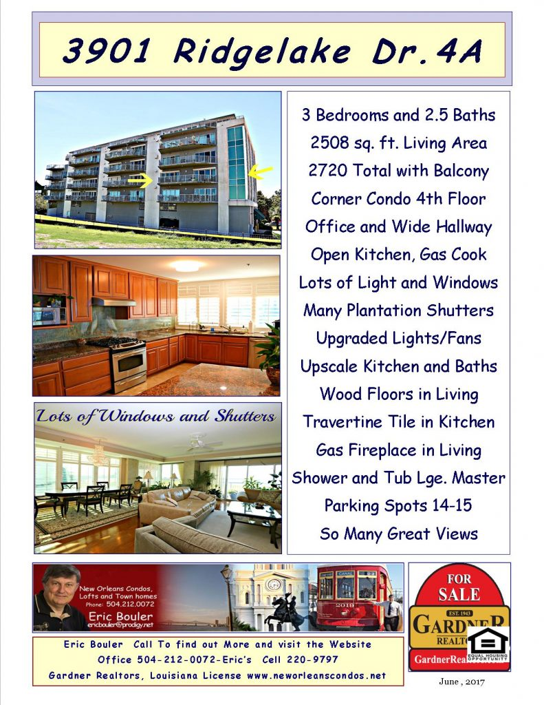 Pontchartrain Kaye Condos in Metairie,Luxury Units