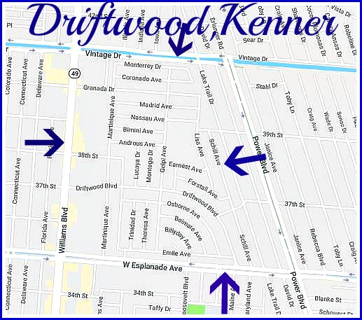 Apartments In Kenner La: Driftwood Subdivision In Kenner, Home To Many Spahish