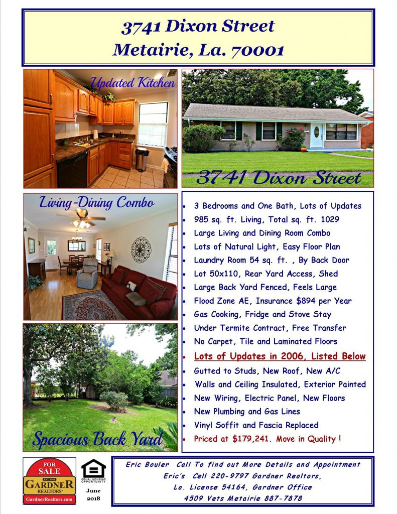 Metairie Home for Sale